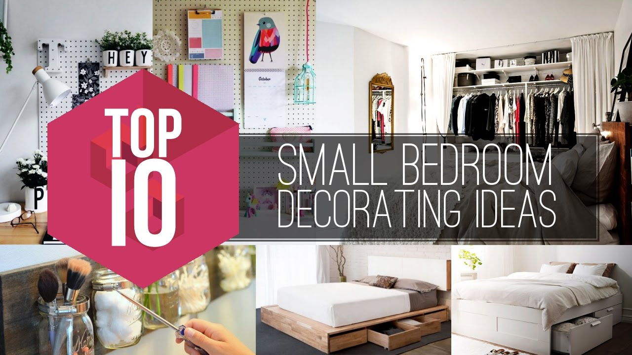 10 Small Bedroom Decorating Ideas - Simphome