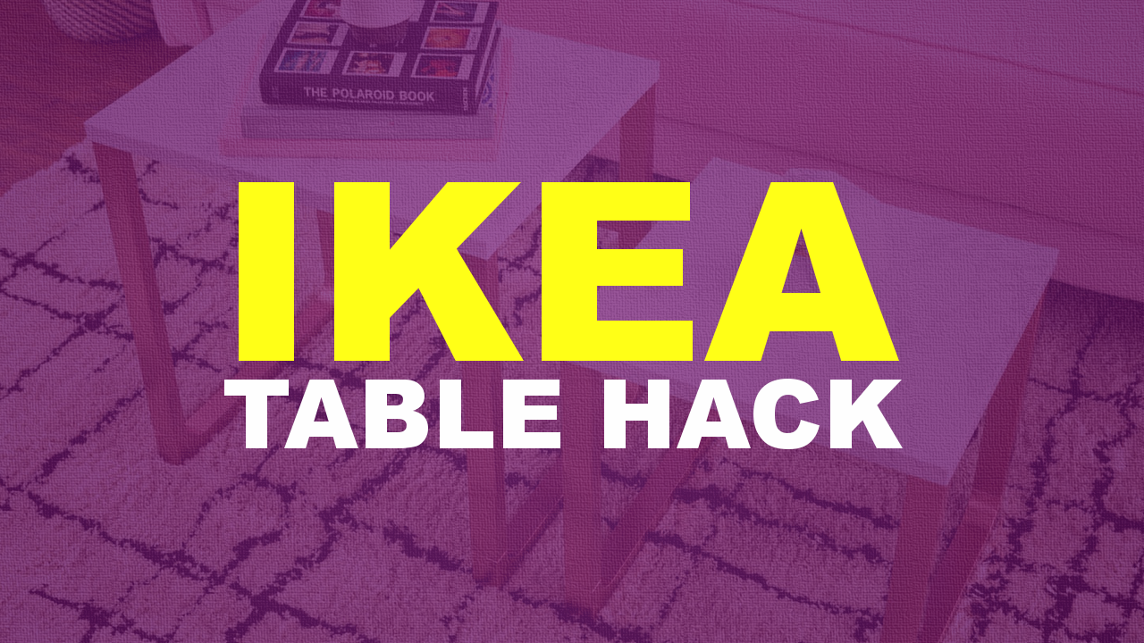ikea table hacks Simphome com