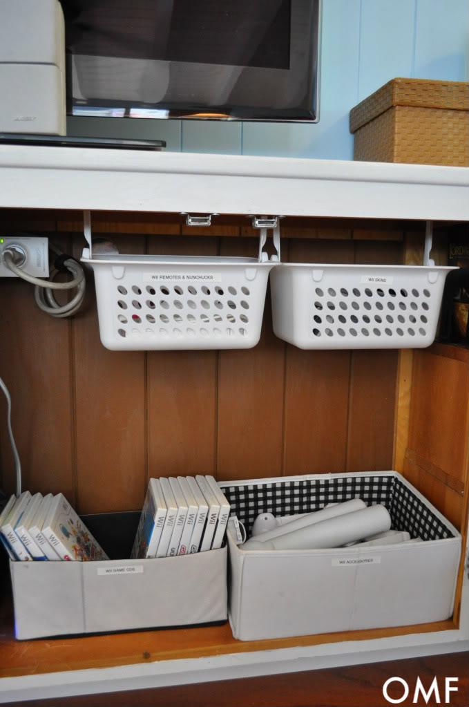 simphome under cabinet