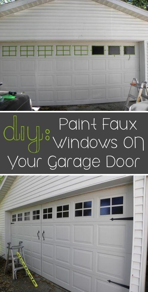 Garage door window 12 Simphome com
