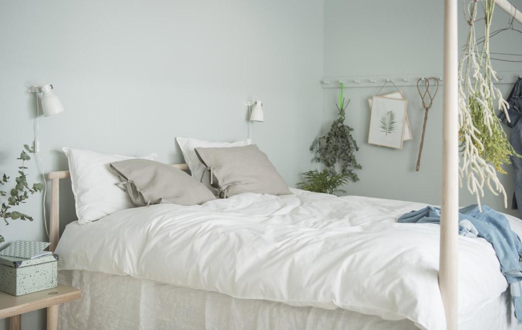 1 IKEAs Bedroom makeover idea via simphome com