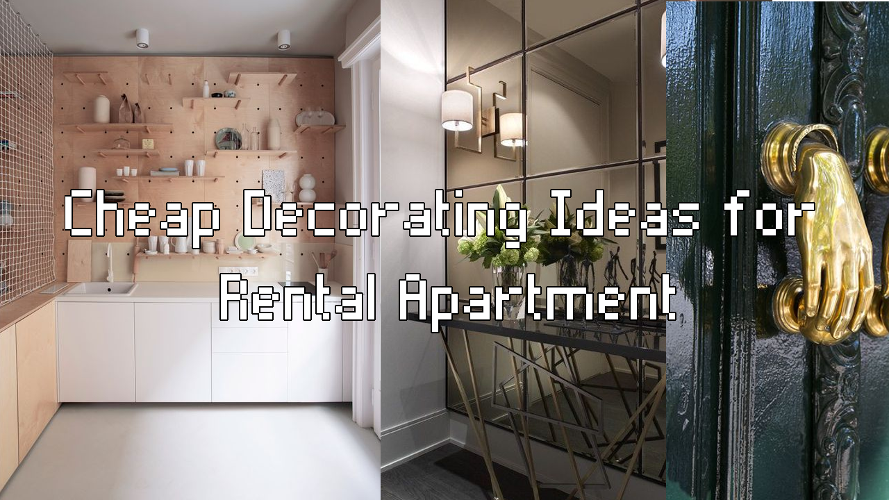 12 simphome cheap apartment decor