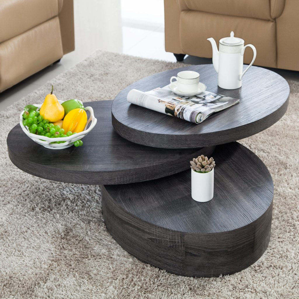 13 rotating cocktail table