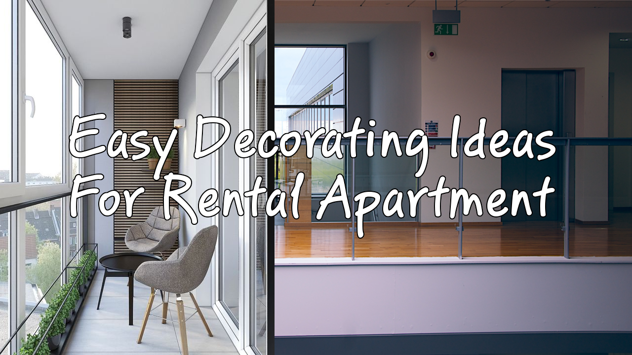 17 rental apartment decor ideas