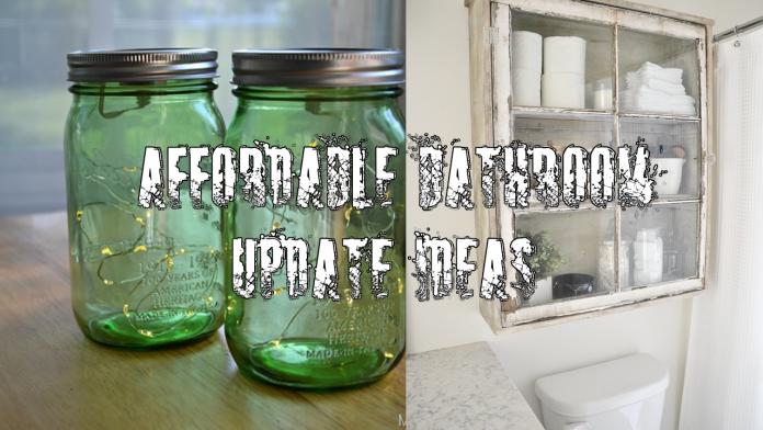 21 simphome affordable bathroom update