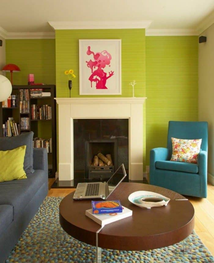 22 casual eclectic living room