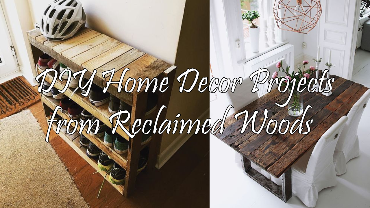 25 home decor from reclaimed wood