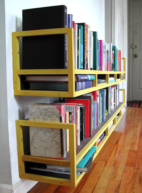 4 Two Stories Book Shelves Simphome com
