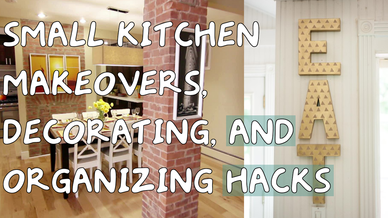 5 Small Kitchen Makeovers Decorating and Organizing Hacks Simphome com