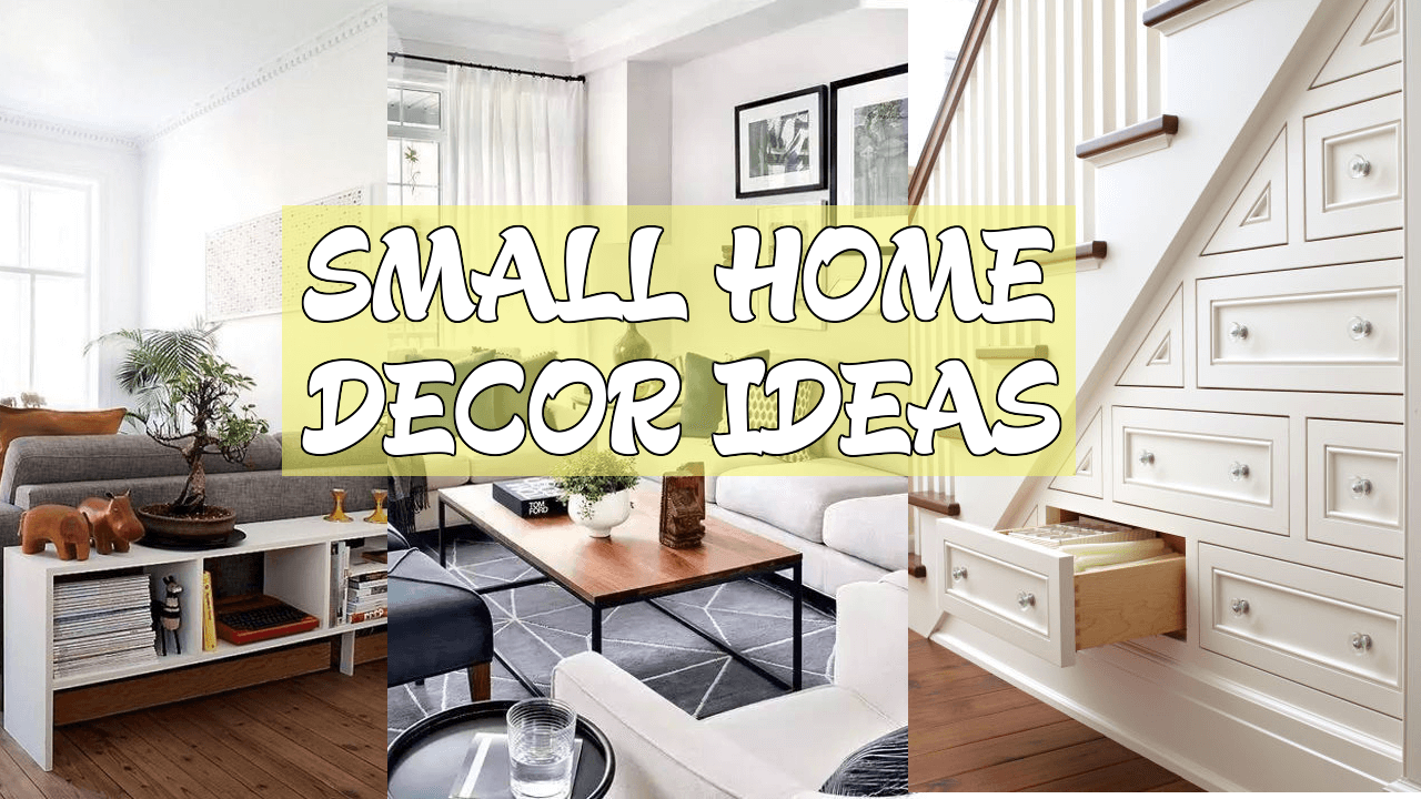 5 Small home décor ideas Simphome com