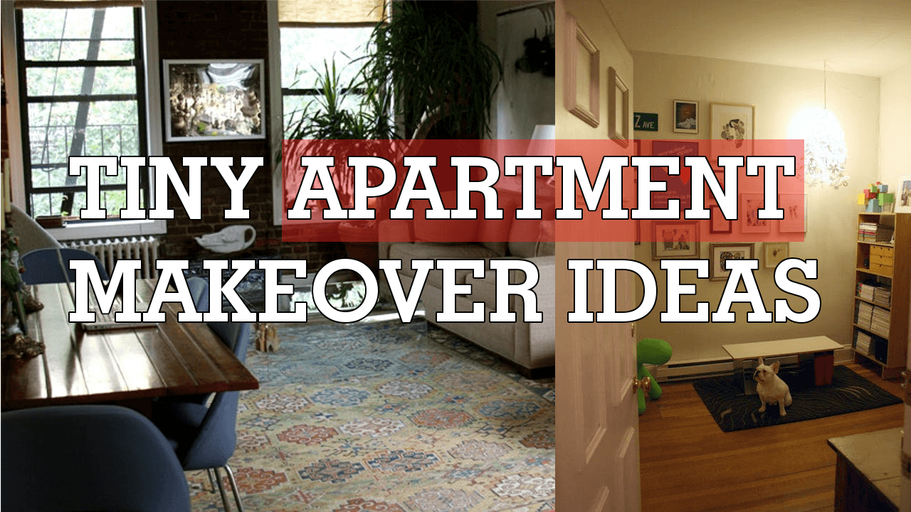 5 Tiny apartment makeover ideas Simphome com