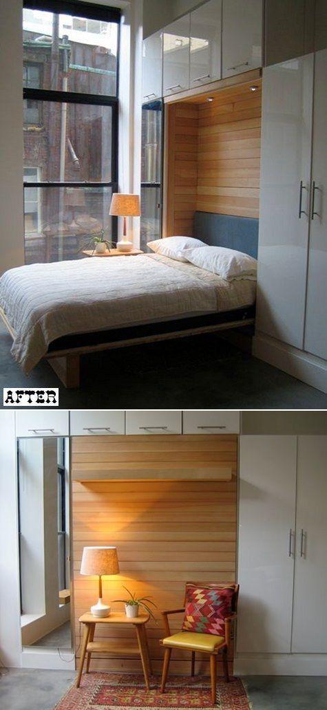 5 Stick Storage Close To The Bed Via Simphome com 1