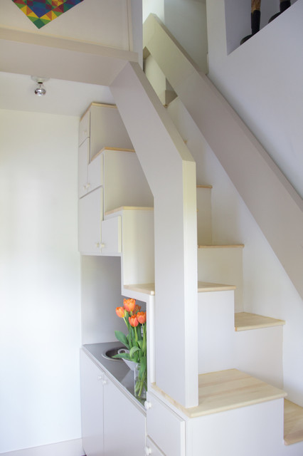 under the stair