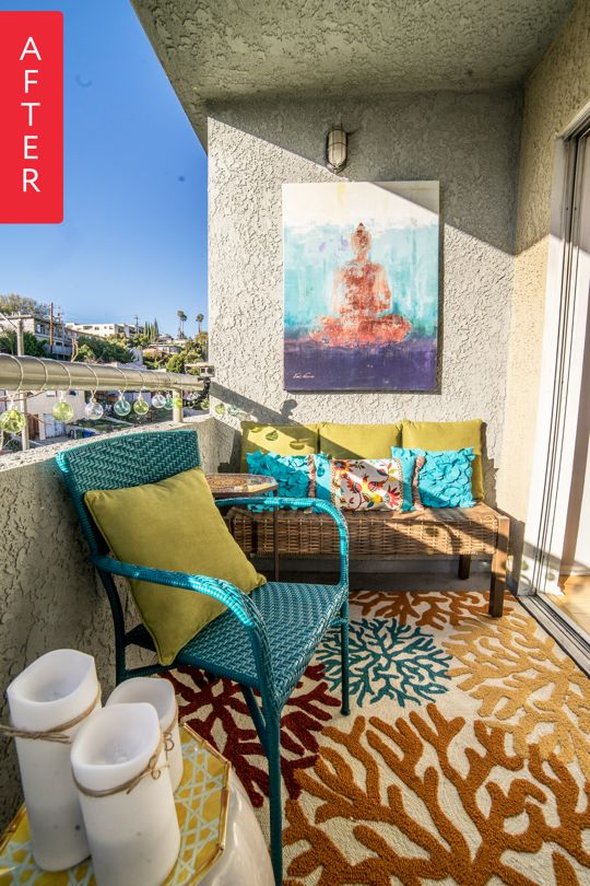 6 Balkon Penuh Warna simphome com
