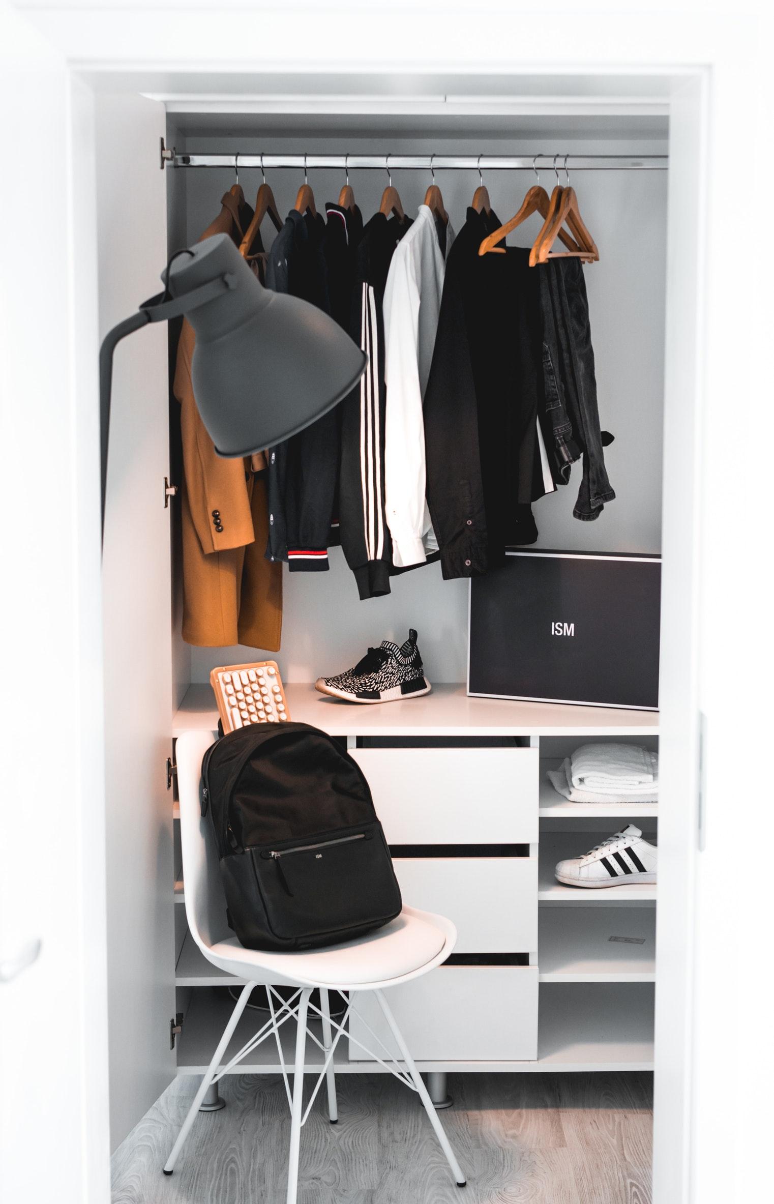 7 Creative closet organization via simphome