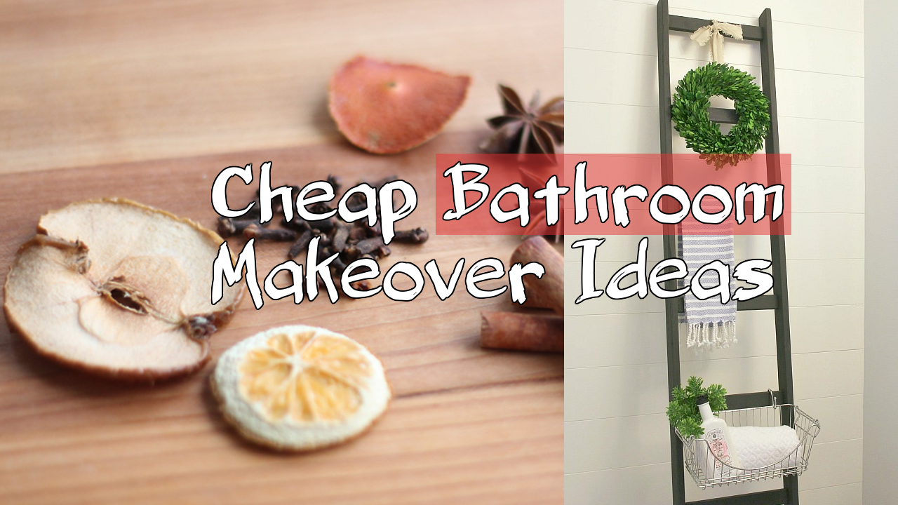 simphome cheap bathroom makeover ideas