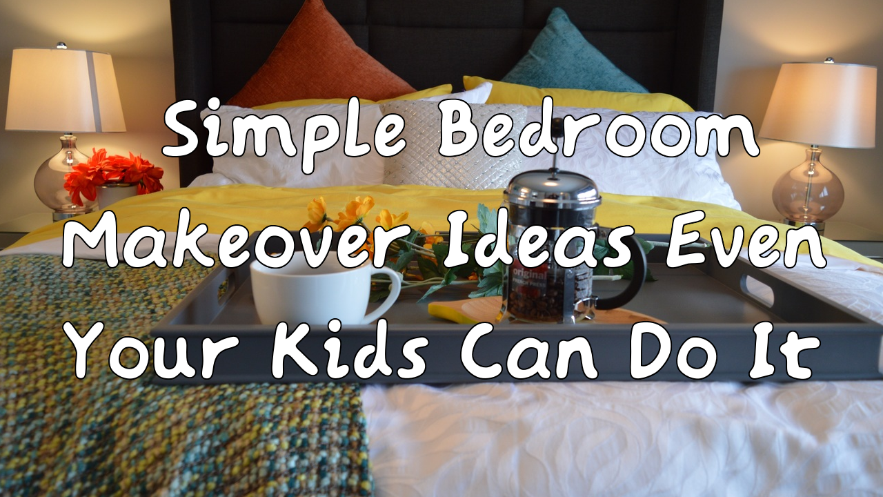 simphome simple bedroom makeover
