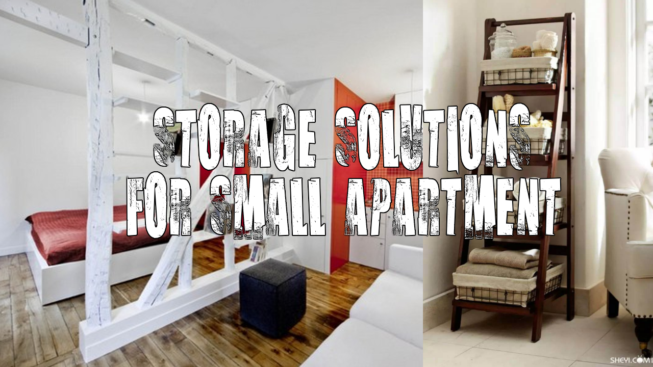simphome storage for small apartment