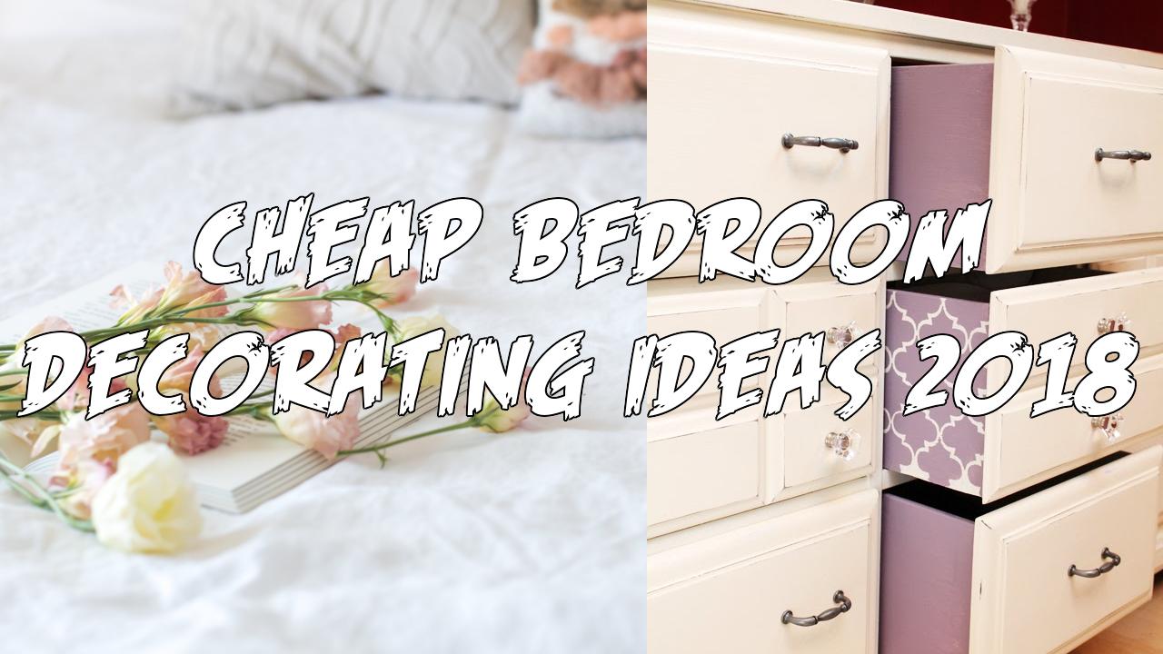 Cheap Bedroom Decorating Ideas 2018 Simphome com