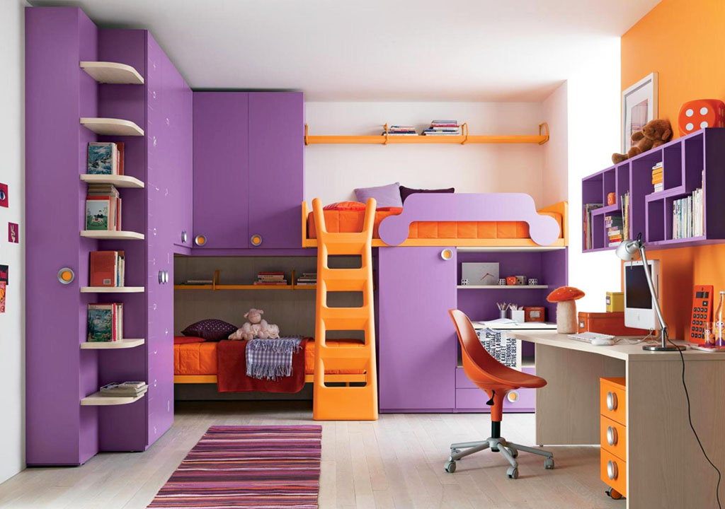 Purple for boy bedroom 1 Simphome com