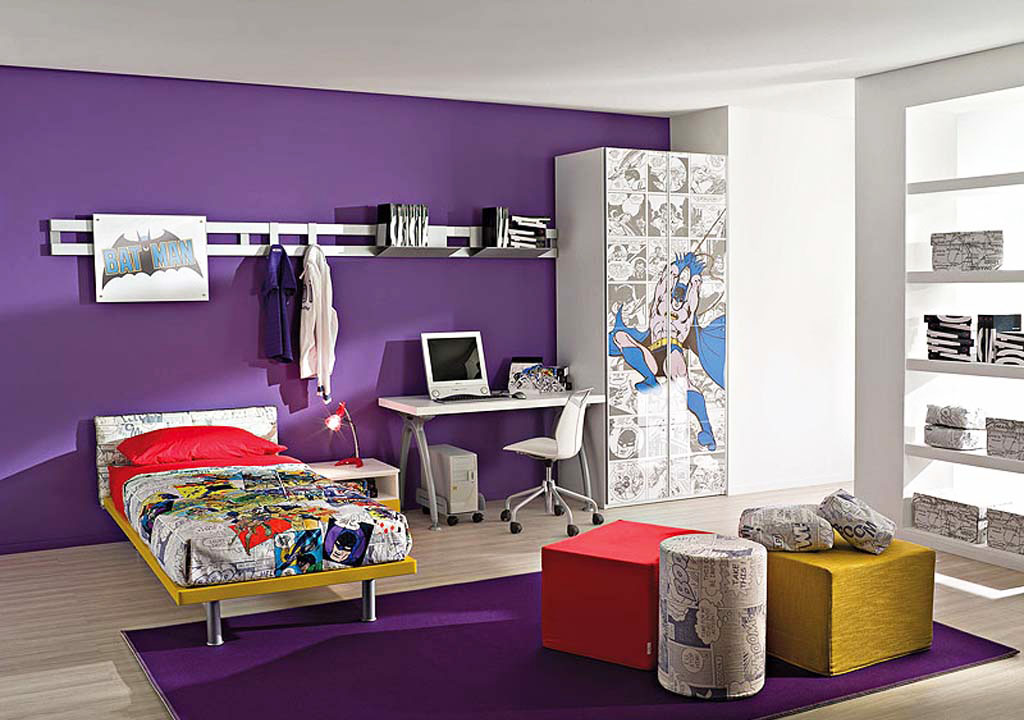 Purple for boy bedroom 2 Simphome com