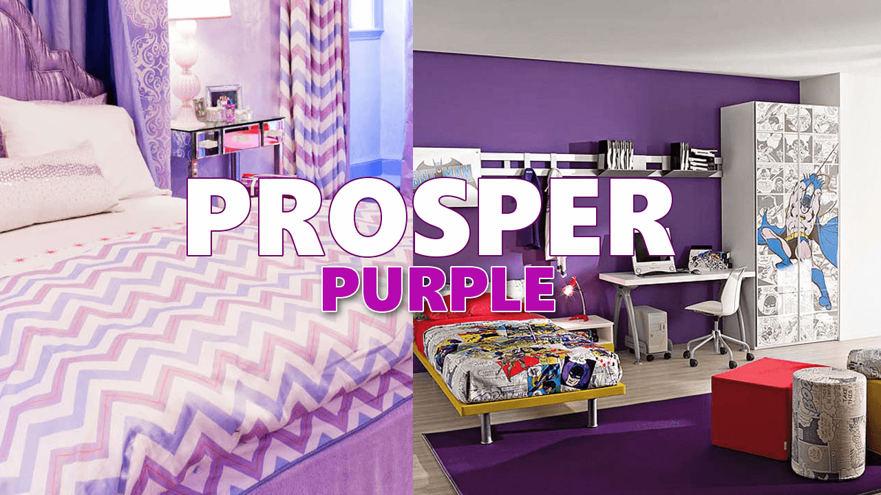 Purple home decor via simphome com