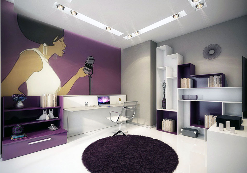 Purple office 5 Simphome com