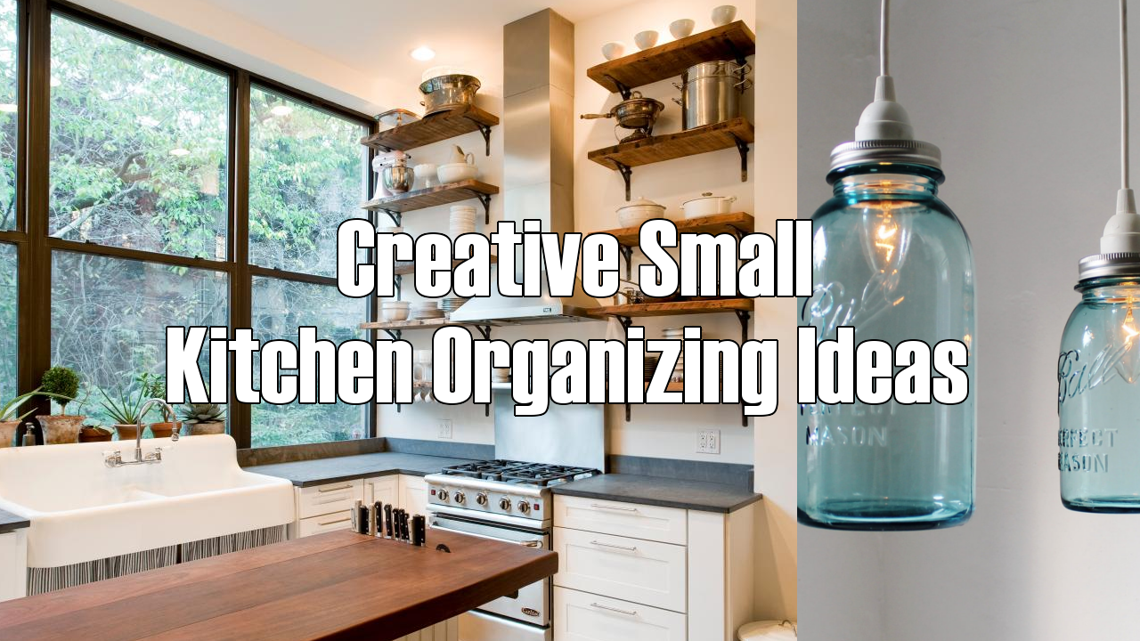 creative small kitchen organizing ideas Simphome com