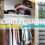 organization hacks for small space Simphome com