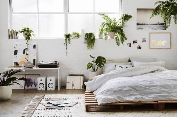simphome bedroom plant