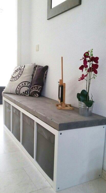 simphome book storage bench