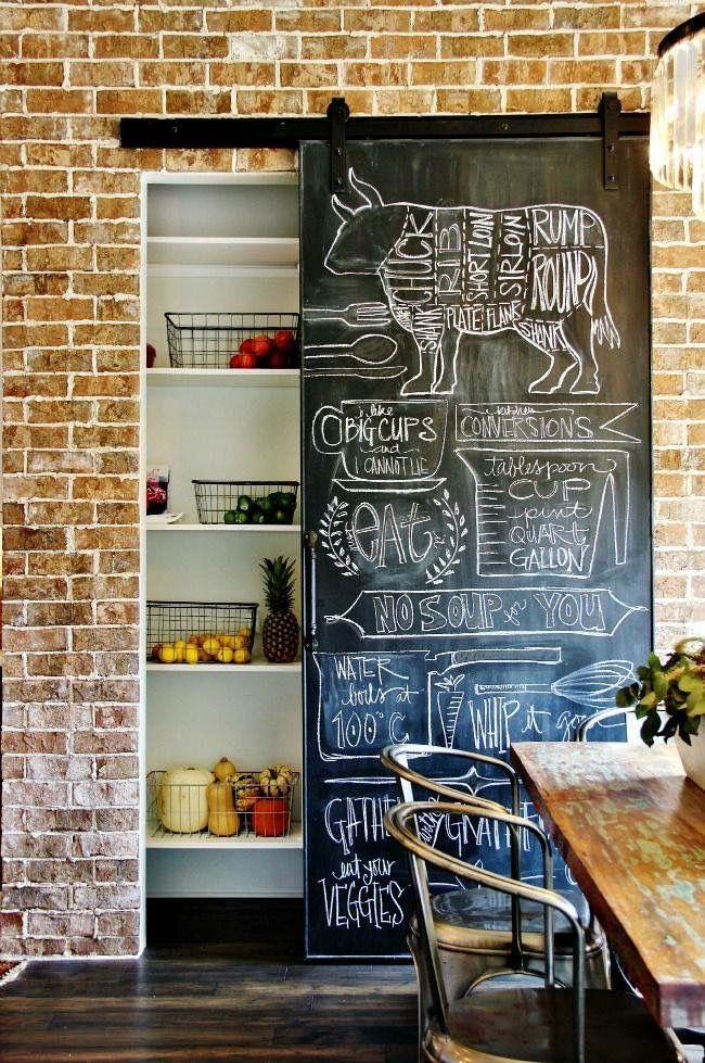 simphome chalk door