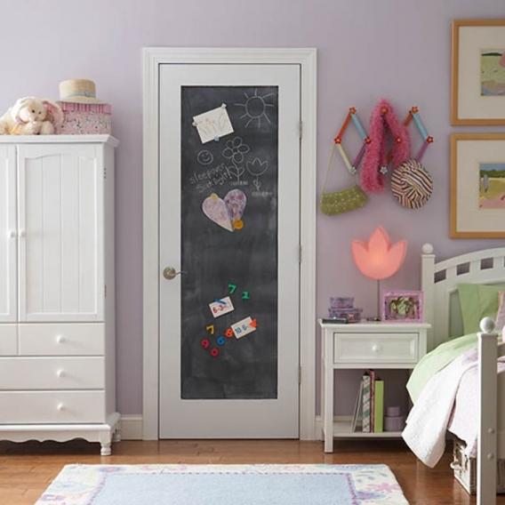 simphome chalkboard door
