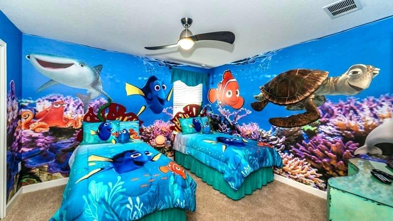 simphome finding nemo bedroom