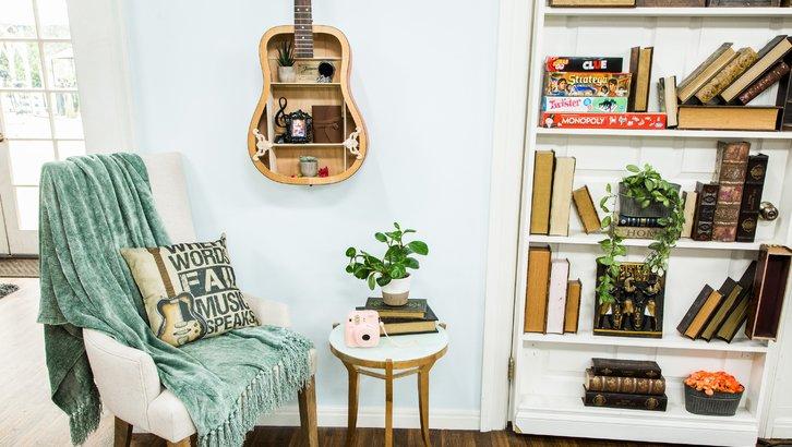 simphome guitar shelf