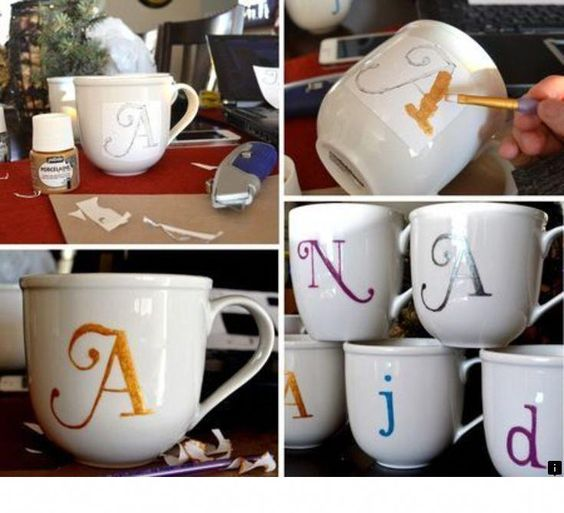 simphome initial coffee mug