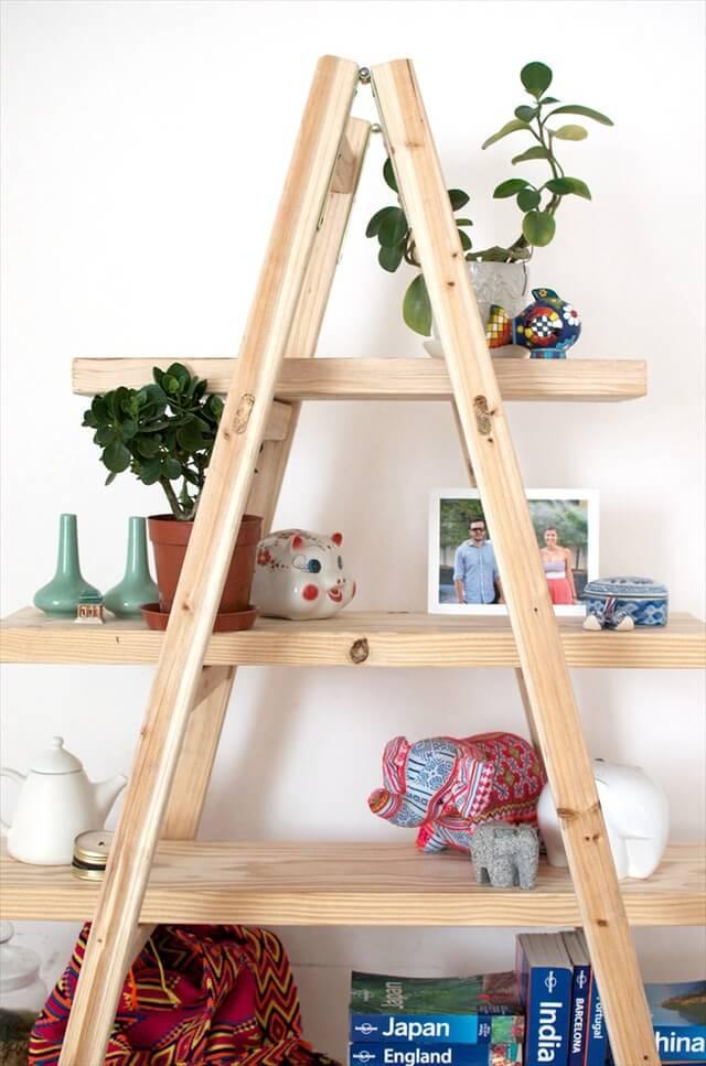 simphome ladder shelf