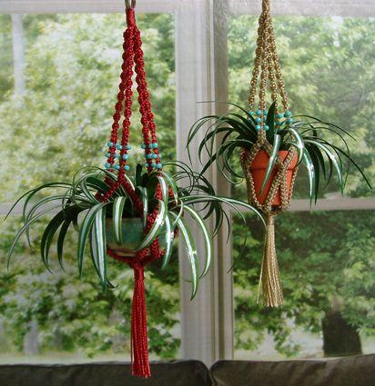 simphome macrame planter
