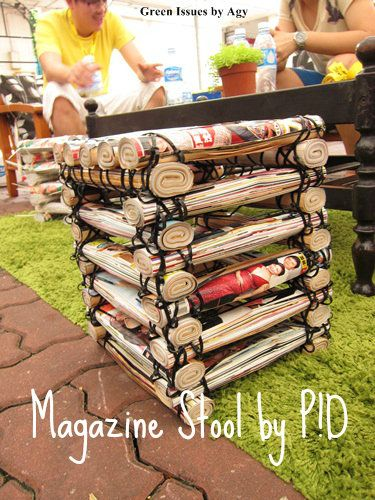 simphome magazine stool