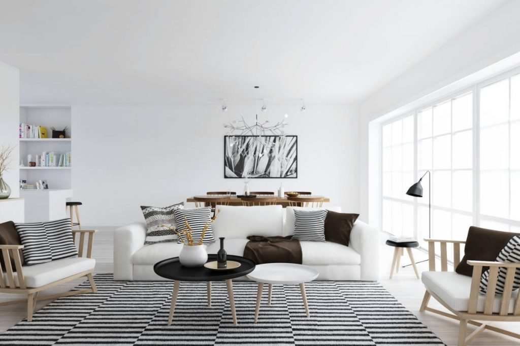 simphome minimalist apartment