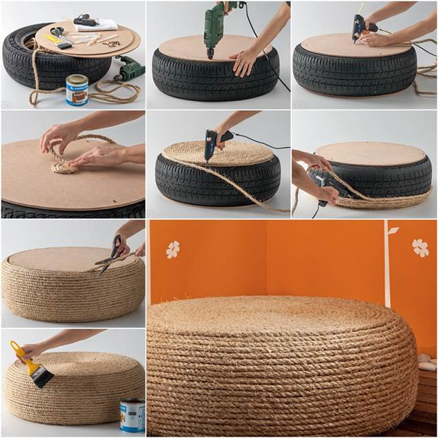 simphome ottoman chair