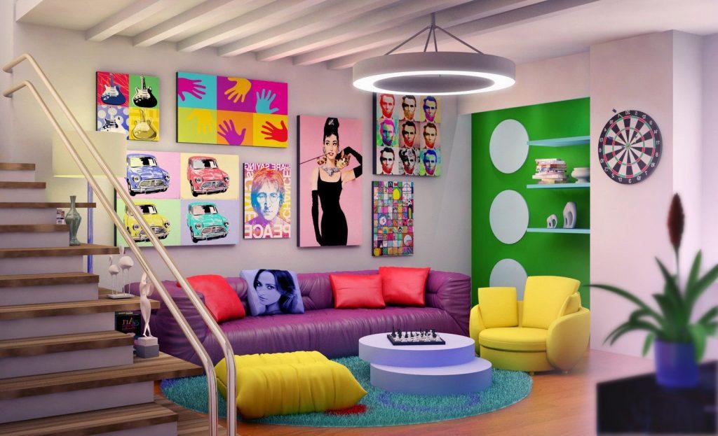 simphome pop art decor