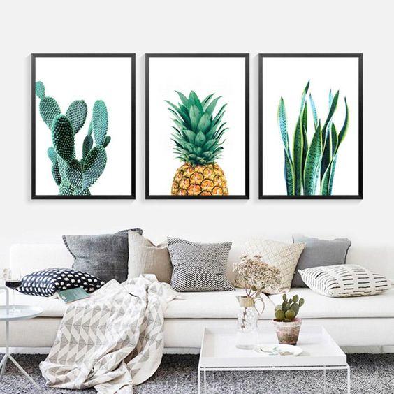 simphome printed canvas