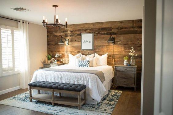 simphome rustic bedroom