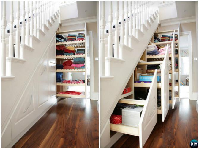 simphome storage under stair