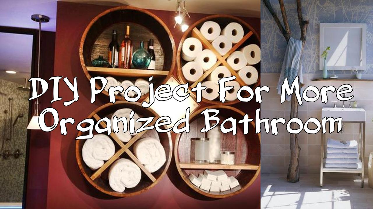 simphome project organized bathroom