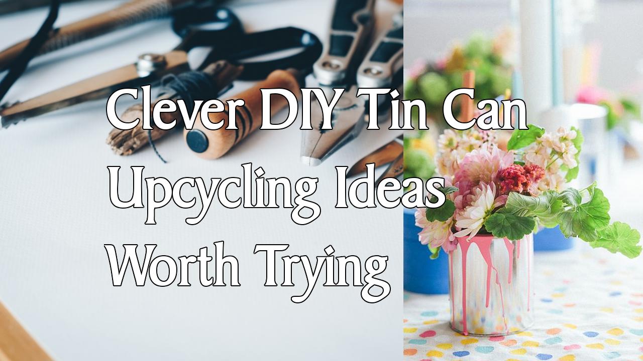 simphome clever diy tin can