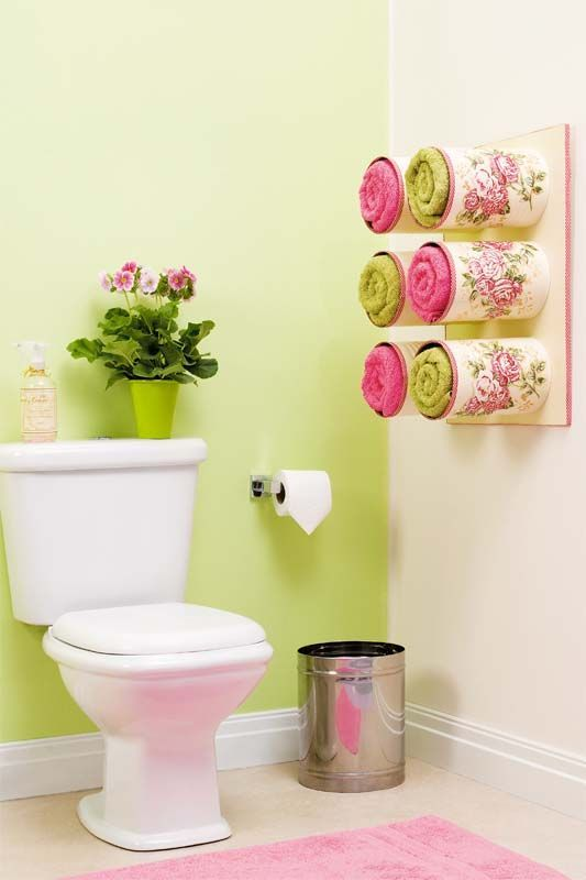 19 tin can towel holder