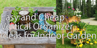 5 Easy and Cheap Vertical Organizer Ideas for Indoor Garden via simphome