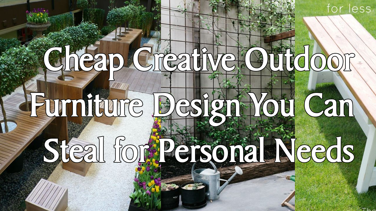 Cheap Creative Outdoor Furniture Design Simphome.com